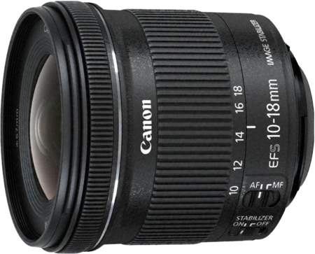 Canon EFS 10-18mm f/4.5-5.6 IS STM