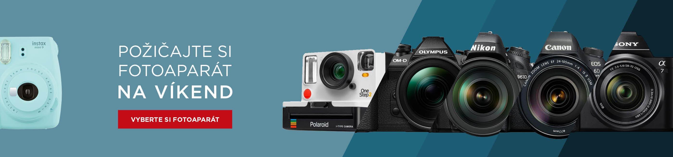 Zápožička fotoaparatov