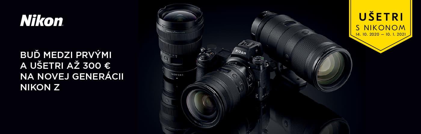 Nikkon predpredaj Z6 a Z7 - Fotolab